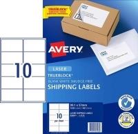 Avery Laser Label L7173 BX100 10/sheet 99.1x57mm