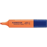 STAEDTLER TEXTSURFER CLASSIC 364-4 HIGHLIGHTER Orange BX10