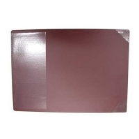 Bantex Desk Pad (+Clear Flap) Burgundy 34x48cm 4191-59