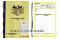 Delivery Book Duplicate 207x144mm Carbonless s/open Spirax 556