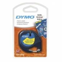Dymo Letratag Labelling Tape PVC 91202/91332 Yellow