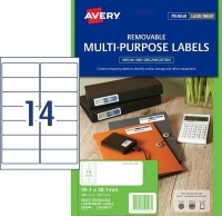 Avery Laser Label L7163REV PK25 14/sheet