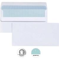 Cumberland Envelope 120x235 DLX PresSeal White Sec 80g BX500
