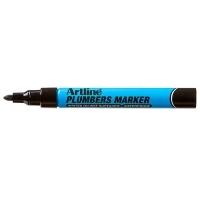 ARTLINE PLUMBERS PERMANENT MARKER BLACK