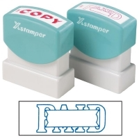 XSTAMPER STAMP - Paid/Date (Blue) 1201 (5012010)