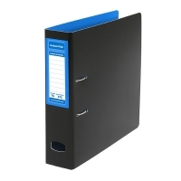 Colourhide Mighty A4 PP Lever Arch File BX6 Blue/Black