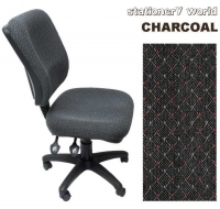 ERGO 400 OFFICE CHAIR High Back EG400ADK Charcoal