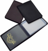 Colby Waterville Business Card Holder W71 Black 12card 80x100mm
