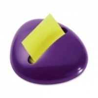 Post-it Pop Up Note Dispenser PBL-330-PP Pebble Shaped Purple