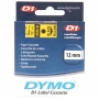 Dymo Labelling Tape D1 12mm x 7M 45018 Black on Yellow
