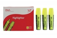 STAT Highlighter Yellow BX10