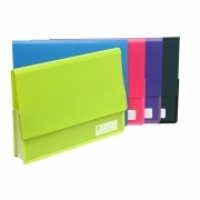 Marbig Polypick Doc Wallet PP A4 Heavy Duty 2011504 Lime