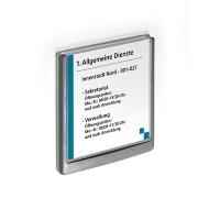 Durable Click Door Sign 149x148.5mm 486237