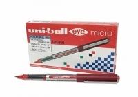 Uniball UB150 Micro 0.5 Eye Liquid Ink Rollerball Pen BX12 Red