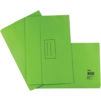 STAT DOCUMENT WALLET FOOLSCAP Manilla Lime
