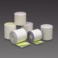 Register Roll 57x57 2ply White/Yellow CCR605