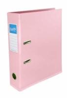 Bantex Lever Arch File PVC A4 Fashion Colours 1450-74 Musky Pink