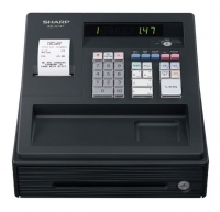 Sharp XEA147BK Cash Register Black