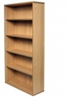 Rapid Span Bookcase H1800xW900xD315mm Beech