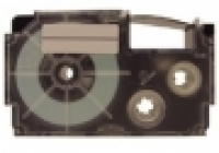 Casio Label Tape XR12X 12mm Black/Clear