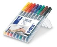 Staedtler 318 Lumocolor Pens Fine 318WP8 WLT8