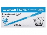 Uniball UM120 Signo Pens BX12 Light Blue