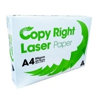 Copy Right Laser A4 White 80gsm Copy Paper (1 ream-500 sheets)