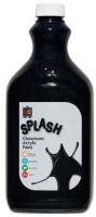 Splash Classroom Acrylic Paint 2L Licorice (Black)