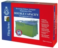 SOVEREIGN SUSPENSION FILES FCAP DOUBLE CAPACITY BX50