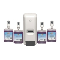 Northfork Foaming Hand Wash Dispenser Starter Pk4 Cart