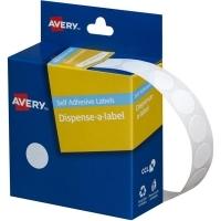 Avery Dispenser Label 14mm White BX1050