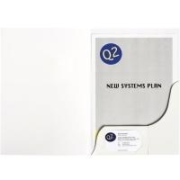 Marbig Presentation Folder A4 White Gloss 1104408 BX20