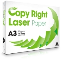 Copy Right A3 Paper 80gsm White A(1 Ream-500sheets)