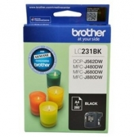 Brother Ink Cartridge LC231BK Black