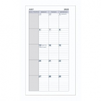 Dayplanner Refills PR2300 172x96 Monthly Dated 2021