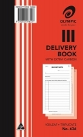 Delivery Book Triplicate 200x125 100LF Olympic 636
