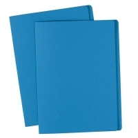Avery Manilla Folders Coloured Fcap  BX100 Blue