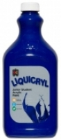 Liquicryl Junior Student Acrylic Paint 2L Brilliant Blue