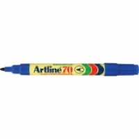 Artline 70 Marker Permanent Medium Bullet Blue