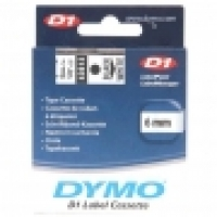 Dymo Labelling Tape D1 6mm x 7M 43613 Black on White