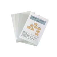 Marbig Letter Files 2004912 A4 Glass Clear PK10