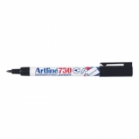 Artline Laundry Marker 750 0.7mm Fine Bullet Black