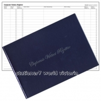 Wildon Corporate Visitors Register Book WIL250 A4 Landscape
