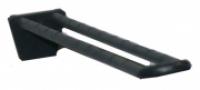 Deflecto Pegboard Hook Fibre Glass Reinforced 100mm Black 1057DB