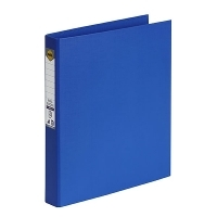Marbig Ring Binder A4 25mm 2R 25mm PE Linen Royal Blue