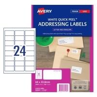Avery Laser Label L7159 BX100 24/sheet