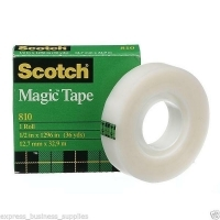 3M Scotch Magic Invisible Tape 810 12mm x 33M Refill