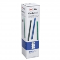 GBC Binding Combs Plastic 21R 6mm (25sht) BX100 White