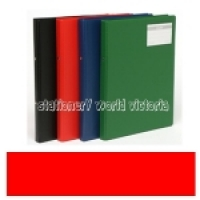 Bantex Flexi Ring Binder A4 2R 20mm Red 1230-09