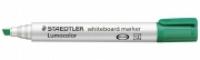 Staedtler Whiteboard Marker 351B-5 Chisel Point Green BX10